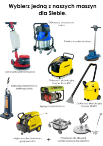maszyny sprzątające sabunirent